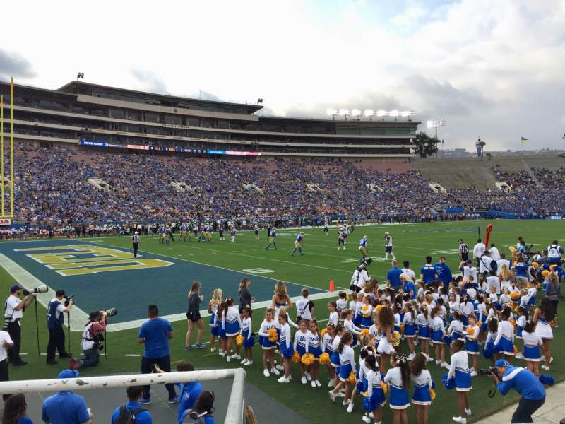 Seating view for Rose Bowl Section 1-L Row 7 Seat 3
