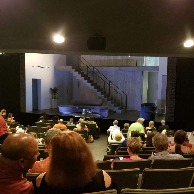Seating view for Laura Pels Theatre Section Orch Row Q Seat 6