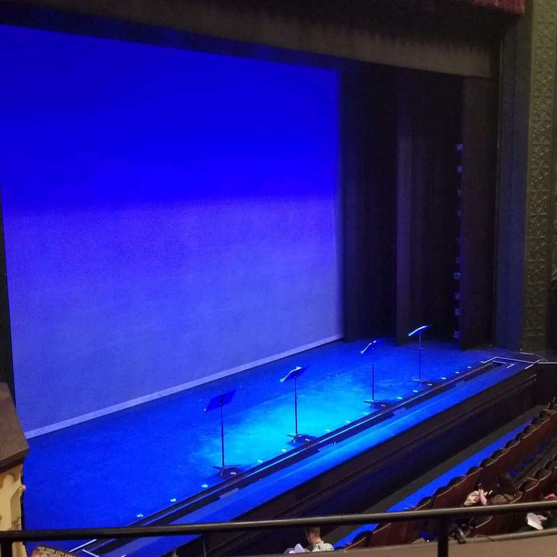 Seating view for Mainstage at the New York City Center Section Grand Tier Row C Seat 21