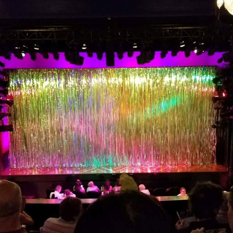 Seating view for Hayes Theater Section Mezzanine C Row F Seat 106