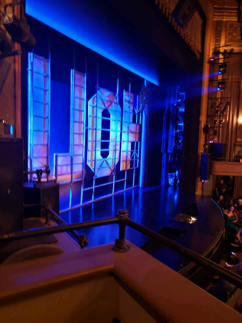 Seating view for Nederlander Theatre Section Box E Seat 2