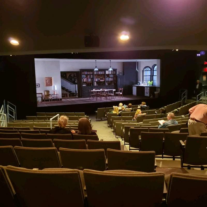 Seating view for Laura Pels Theatre Section Orch Row Q Seat 5