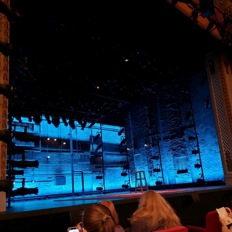 Seating view for Cort Theatre Section Orchestra L Row C Seat 9