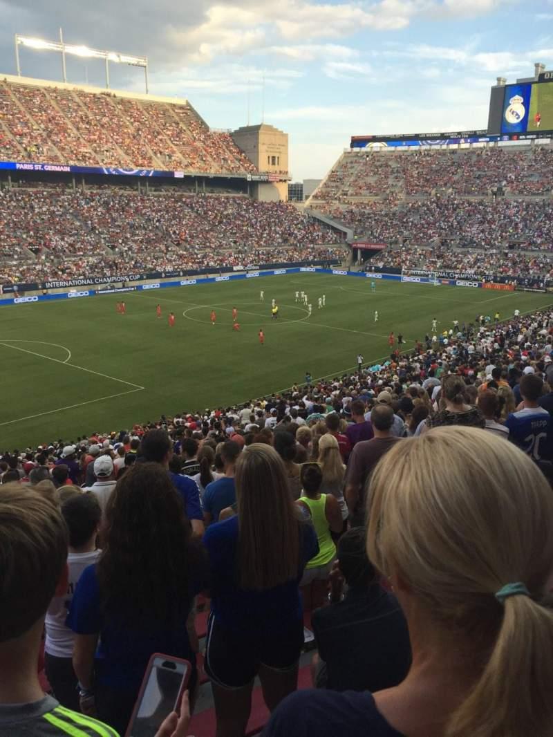 Ohio Stadium, section: 13A, row: 33, seat: 6