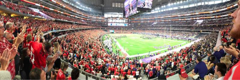 Seating view for AT&T Stadium Section 226 Row 3 Seat 15