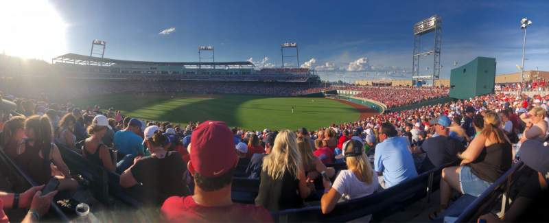 Seating view for TD Ameritrade Park Section 132 Seat 13