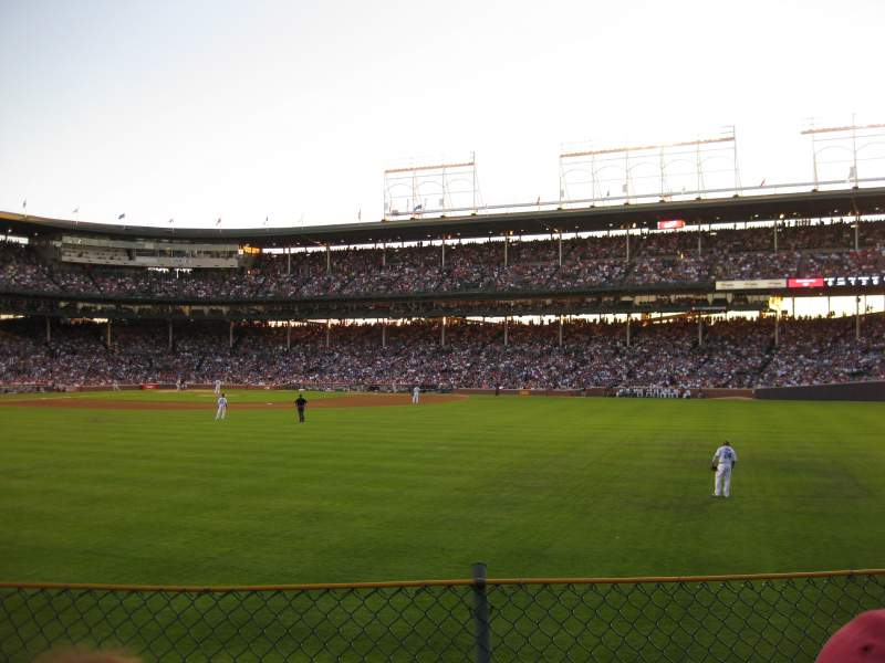 Seating view for Wrigley Field Section 312 Row 3 Seat 5