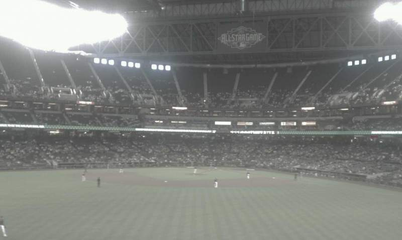 Seating view for Chase Field Section 143