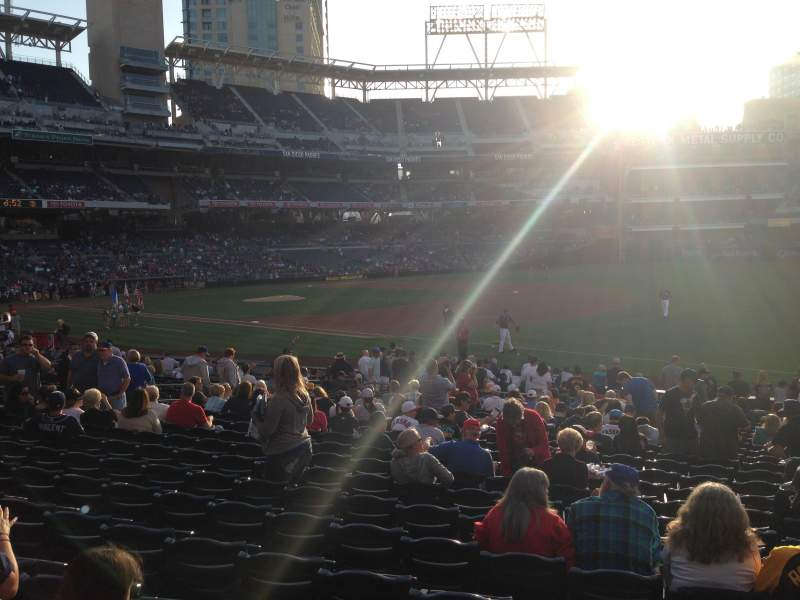 Seating view for PETCO Park Section 115 Row 24 Seat 22