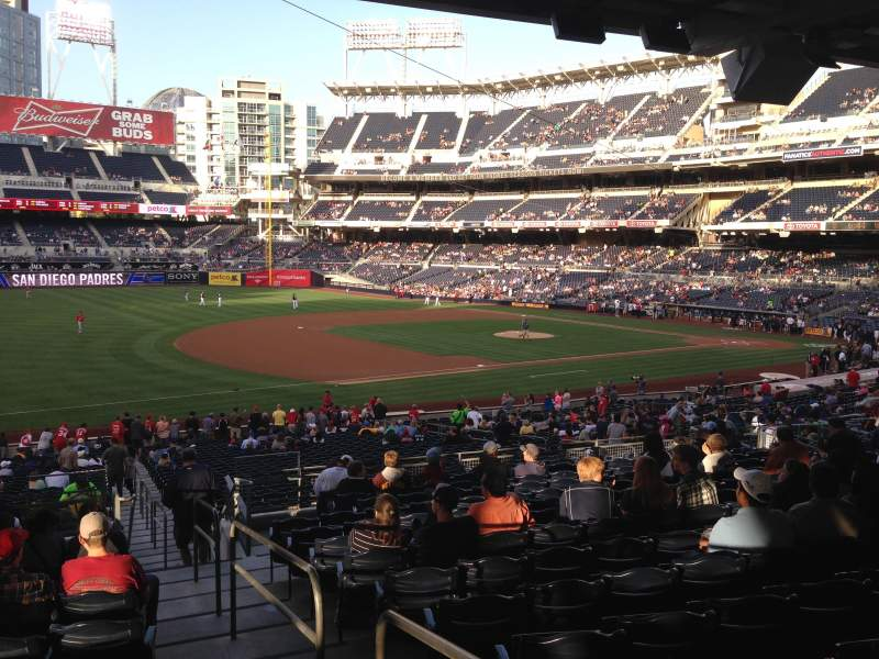 Seating view for PETCO Park Section 116 Row 40 Seat 1