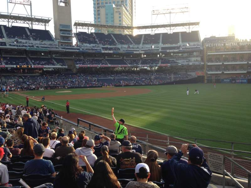 Seating view for PETCO Park Section 121 Row 24 Seat 25