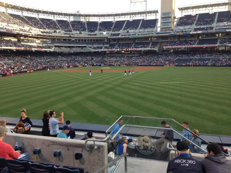 Seating view for PETCO Park Section 137 Row 5 Seat 1