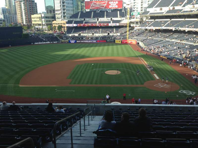 Seating view for PETCO Park Section 206 Row 14 Seat 20