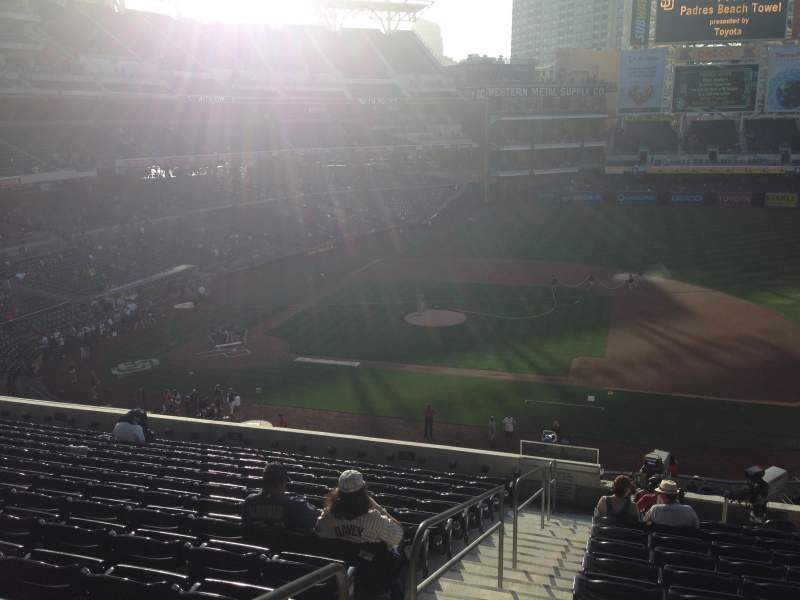 Seating view for PETCO Park Section 209 Row 14 Seat 1