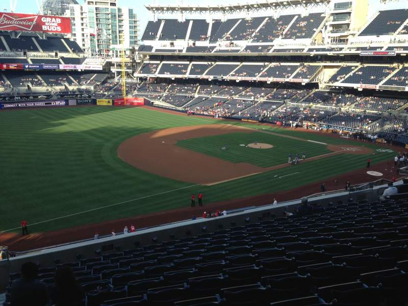 Seating view for PETCO Park Section 216 Row 11 Seat 1