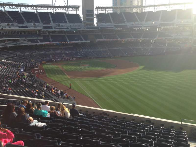 Seating view for PETCO Park Section 223 Row 13 Seat 13