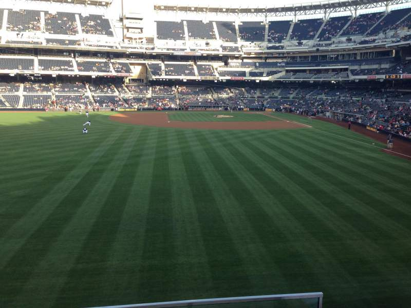 Seating view for PETCO Park Section 226 Row 3 Seat 12