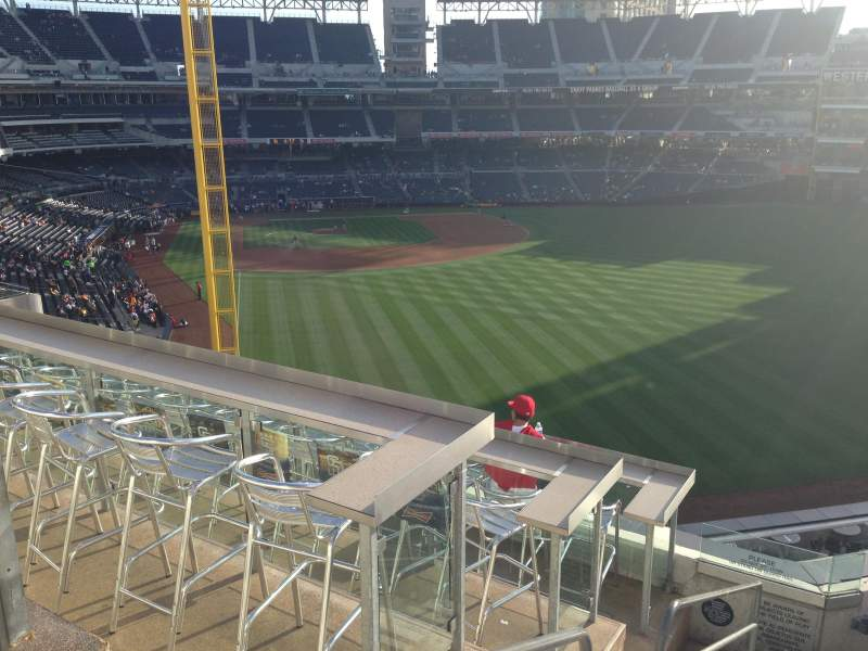 Seating view for PETCO Park Section 227 Row 8 Seat 1