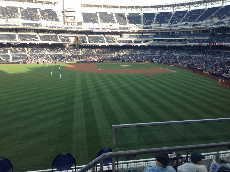 Seating view for PETCO Park Section 228 Row 5 Seat 1