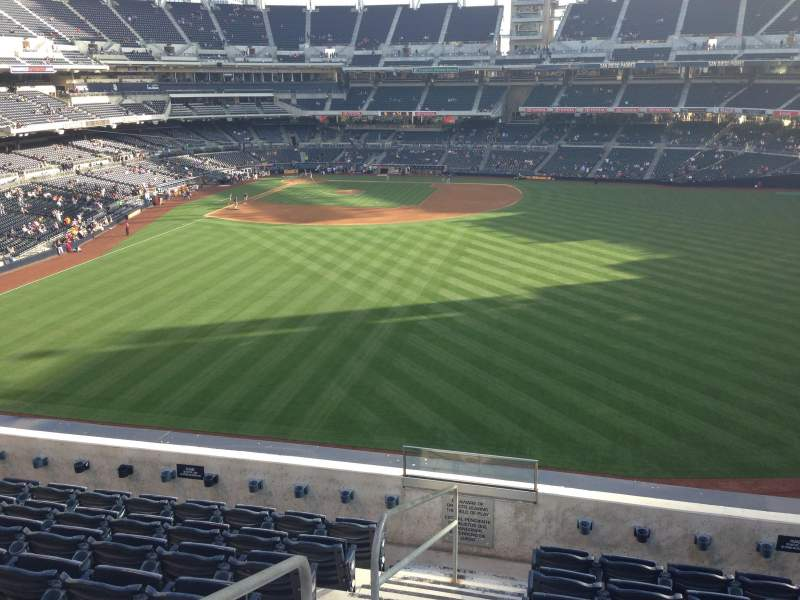 Seating view for PETCO Park Section 235 Row 8 Seat 1