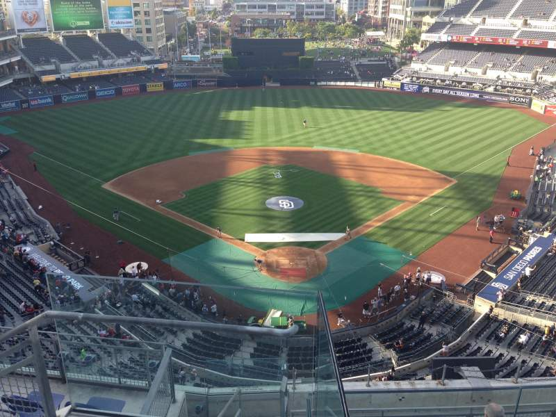Seating view for PETCO Park Section 300 Row 10 Seat 15