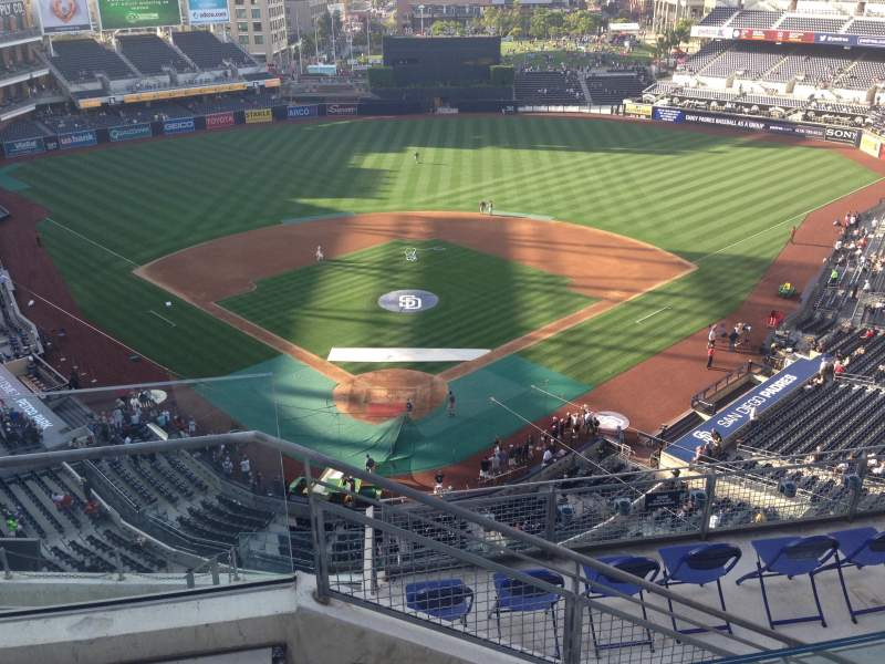 Seating view for PETCO Park Section 301 Row 10 Seat 1