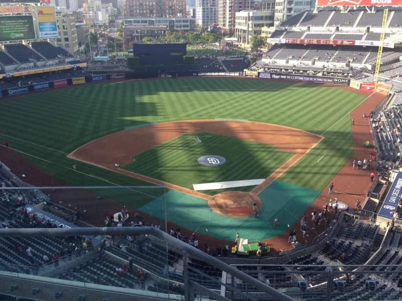 Seating view for PETCO Park Section 302 Row 9 Seat 19