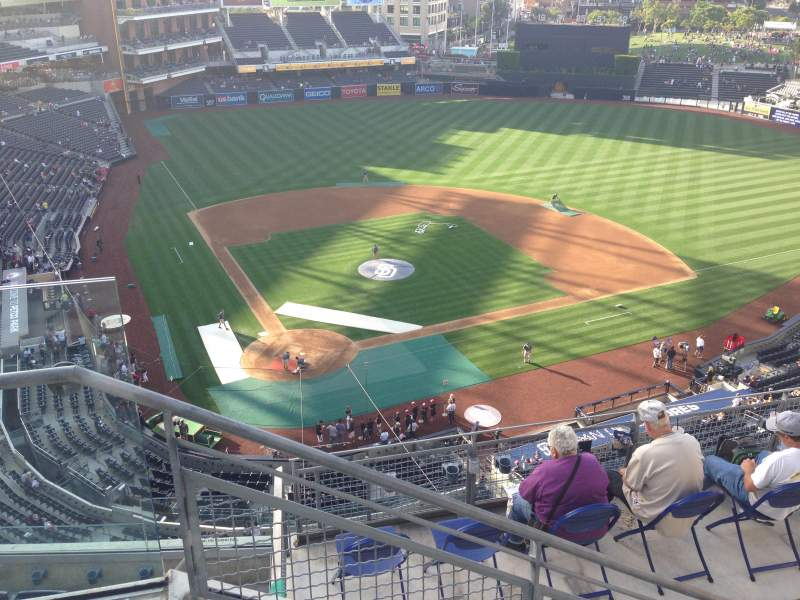 Seating view for PETCO PARK Section 305 Row 9 Seat 1