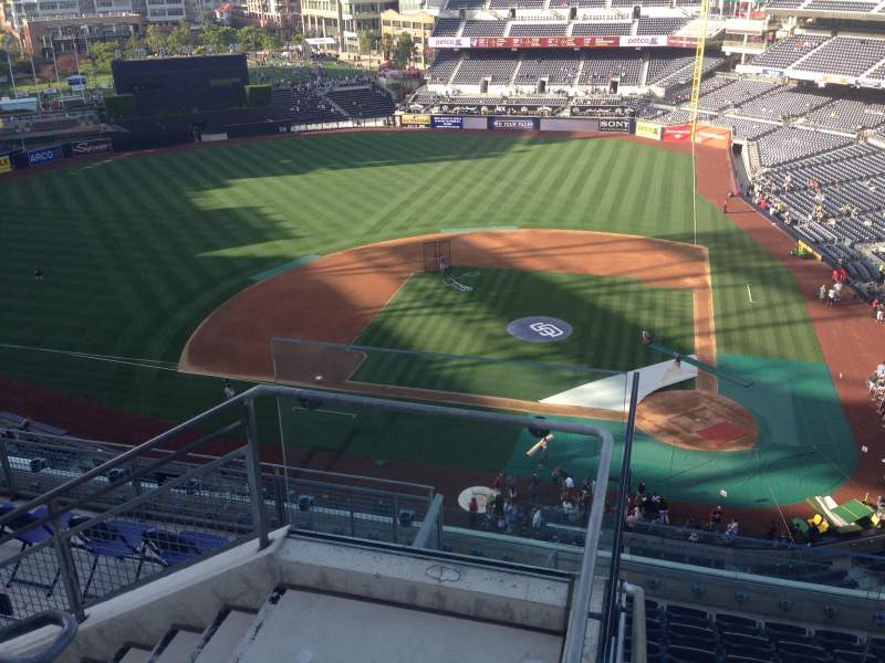 Seating view for PETCO Park Section 308 Row 10 Seat 15