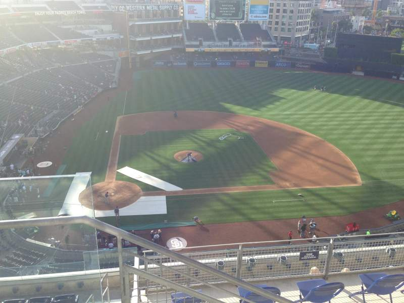 Seating view for PETCO Park Section 309 Row 9 Seat 1