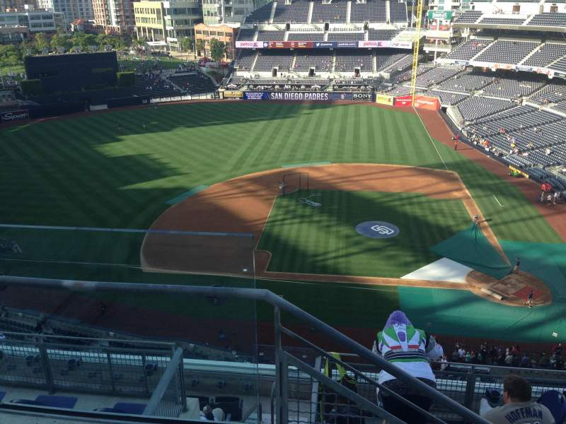 Seating view for PETCO Park Section 310 Row 9 Seat 24