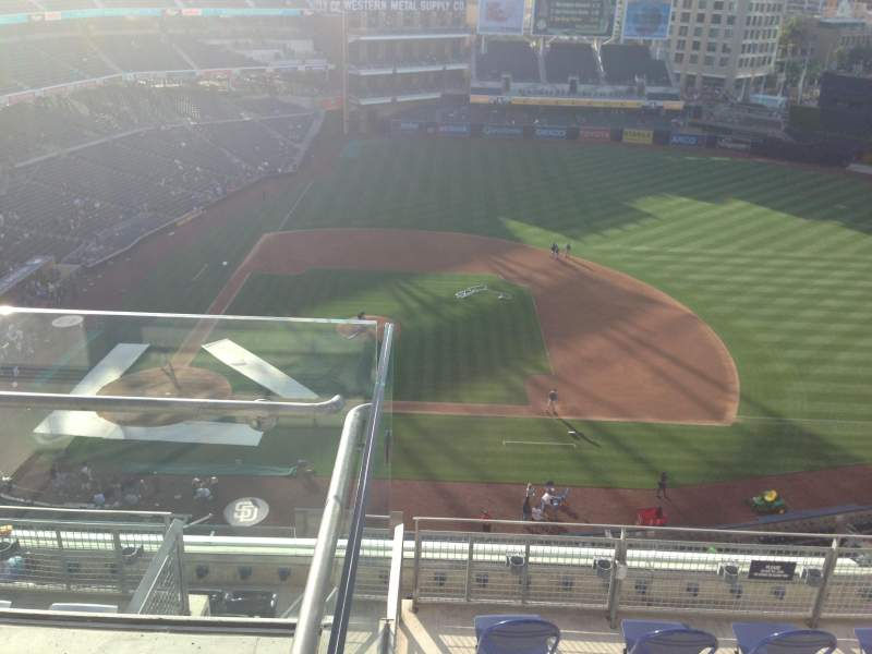 Seating view for PETCO Park Section 311 Row 9 Seat 1