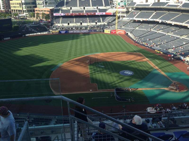 Seating view for PETCO Park Section 312 Row 9 Seat 24