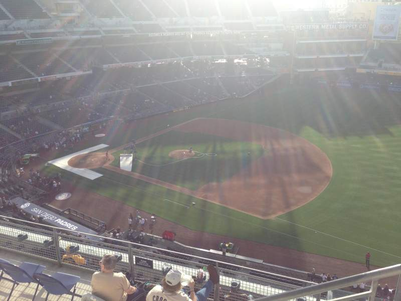 Seating view for PETCO Park Section 315 Row 9 Seat 24