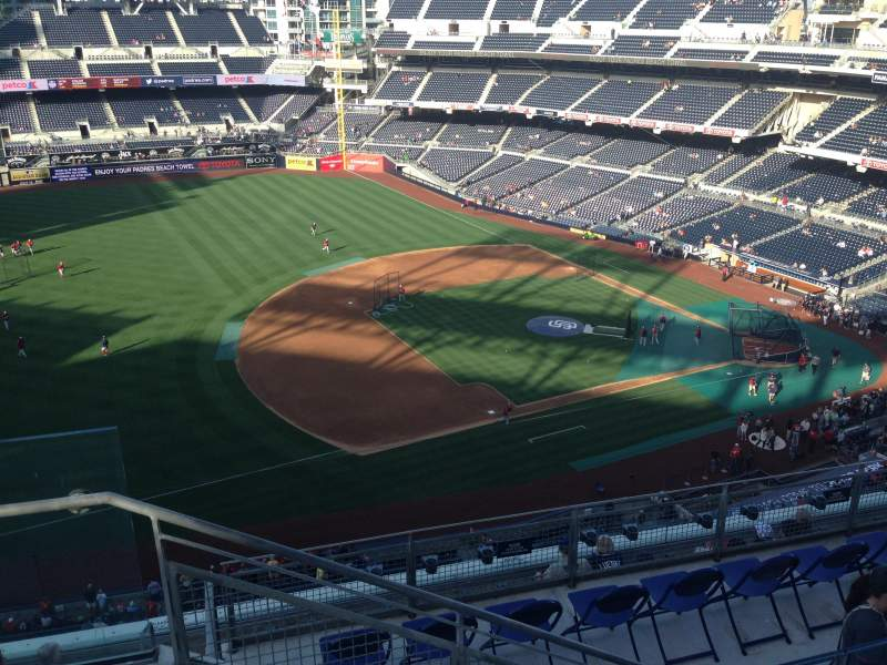 Seating view for PETCO Park Section 316 Row 10 Seat 24