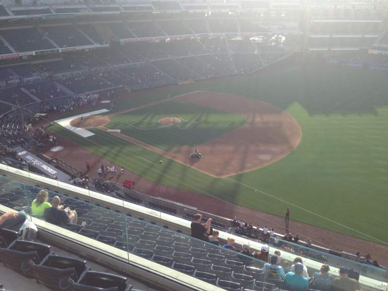 Seating view for PETCO Park Section 317 Row 10 Seat 24
