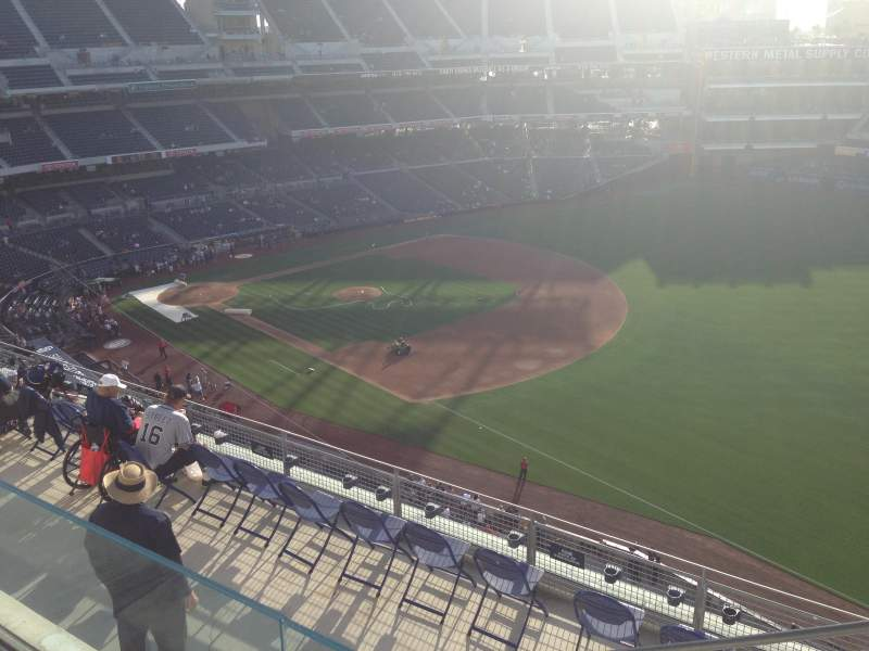 Seating view for PETCO Park Section 319 Row 10 Seat 24