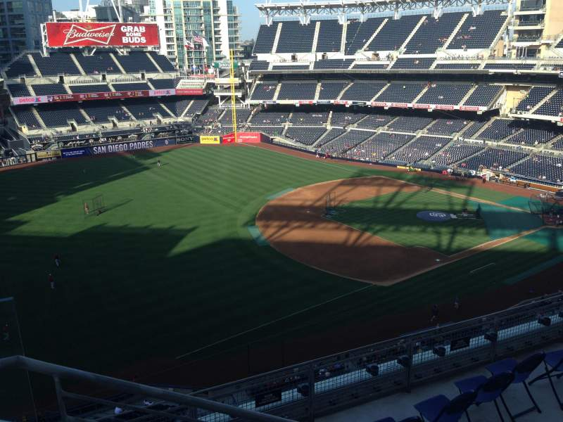 Seating view for PETCO Park Section 320 Row 9 Seat 22