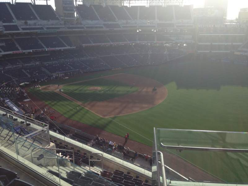 Seating view for PETCO Park Section 321 Row 10 Seat 11