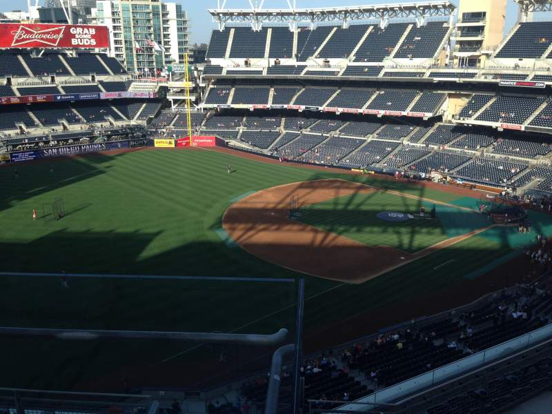 Seating view for PETCO Park Section 322 Row 9 Seat 5
