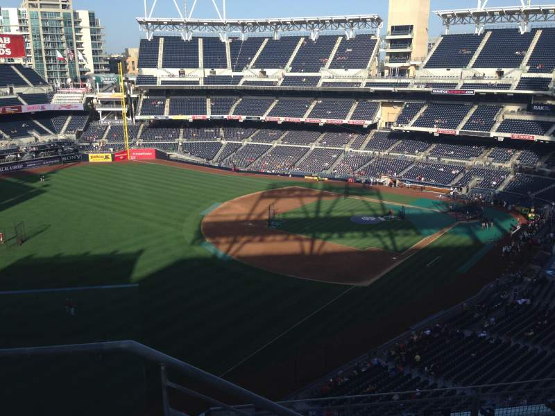 Seating view for PETCO Park Section 324 Row 9 Seat 24