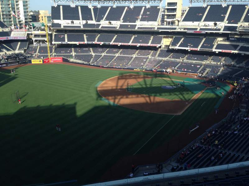 Seating view for PETCO Park Section 326 Row 9 Seat 22