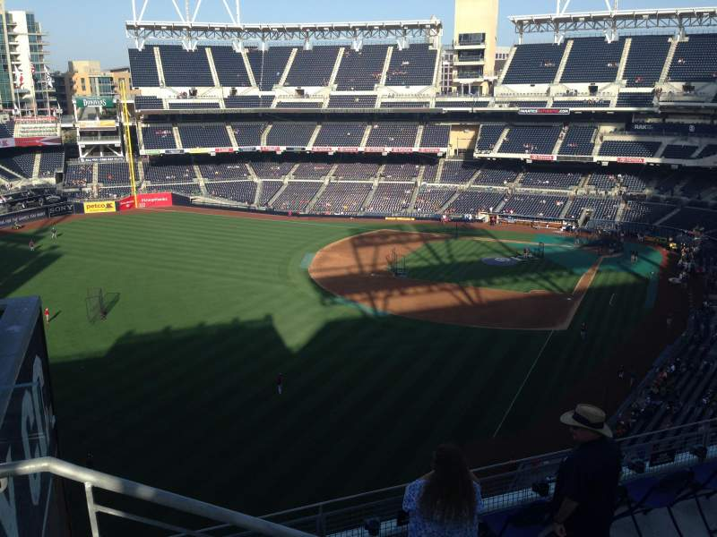Seating view for PETCO Park Section 328 Row 9 Seat 22