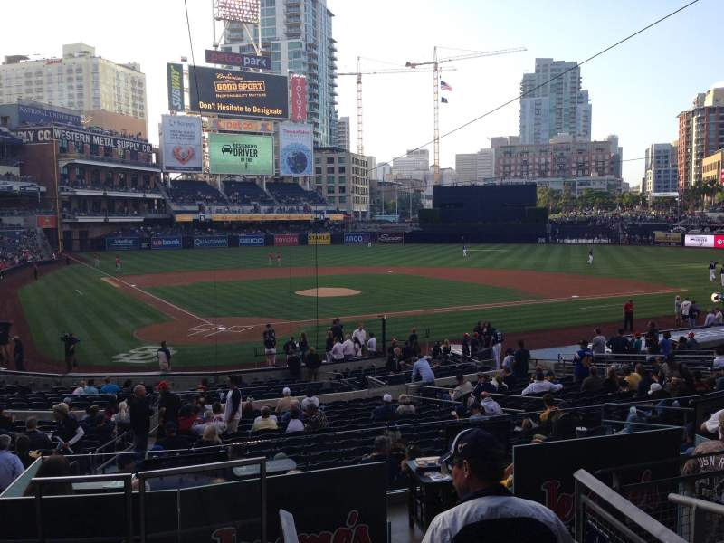 Seating view for PETCO Park Section I Row 4 Seat 10