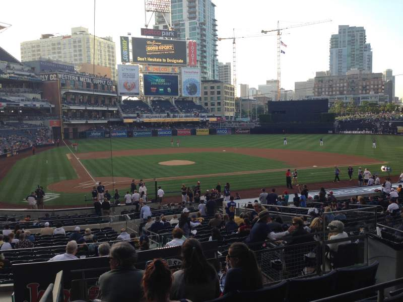 Seating view for PETCO Park Section K Row 5 Seat 1
