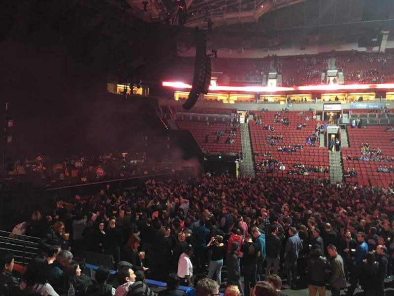 Seating view for KeyArena Section 127 Row 9 Seat 14