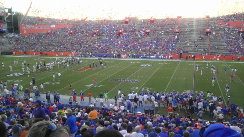 Seating view for Ben Hill Griffin Stadium Section 4 Row 39 Seat 6