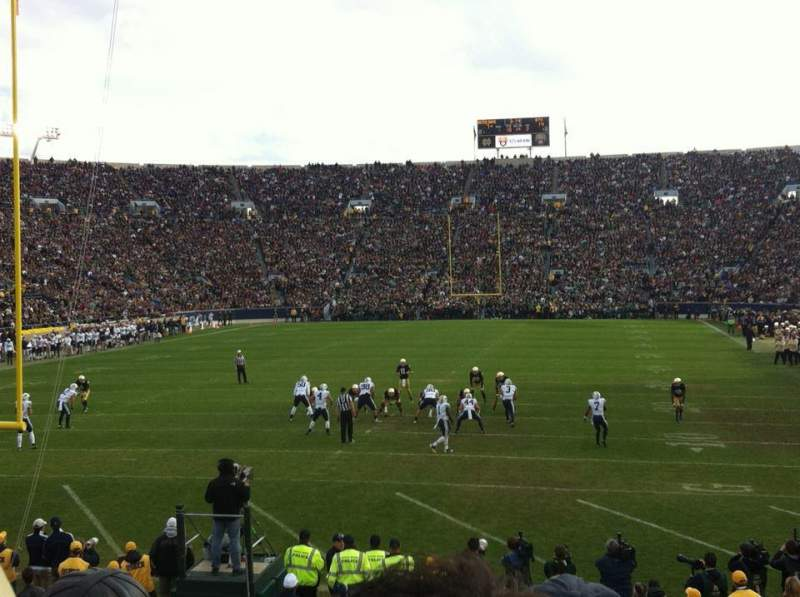 Seating view for Notre Dame Stadium Section 35 Row 21 Seat 20