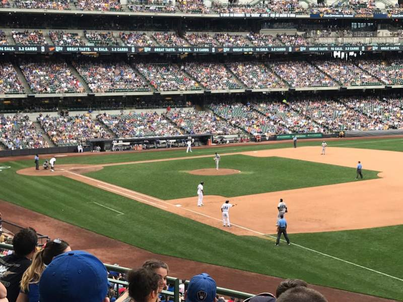 Miller Park, section: 209, row: 5, seat: 18