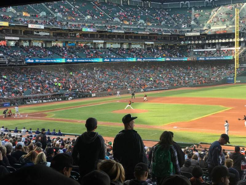 AT&T Park, section: 105, row: 37, seat: 11